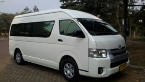 Hiace Commuter Baru Rental