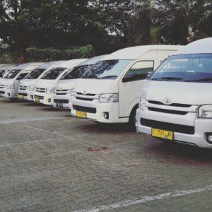 Sewa Hiace Commuter 15 siter Jakarta